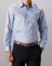 Men`s Tailored Fit Contrast Premium Oxford Shirt Long Sleeve