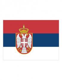 Flag Serbia