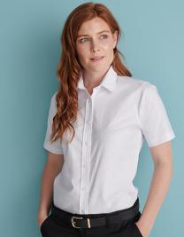 Ladies´ Classic Short Sleeved Oxford Shirt