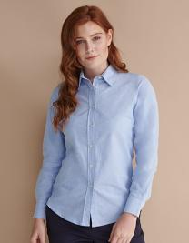Ladies´ Classic Long Sleeved Oxford Shirt